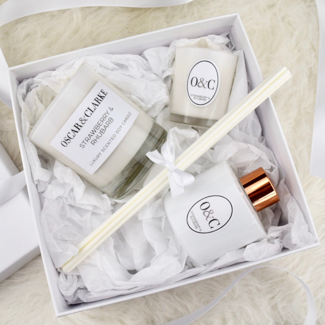 O&C Luxury White Gift Set