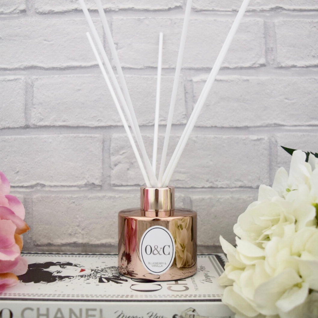 100ml NEW Blueberry & Vanilla Reed Diffuser