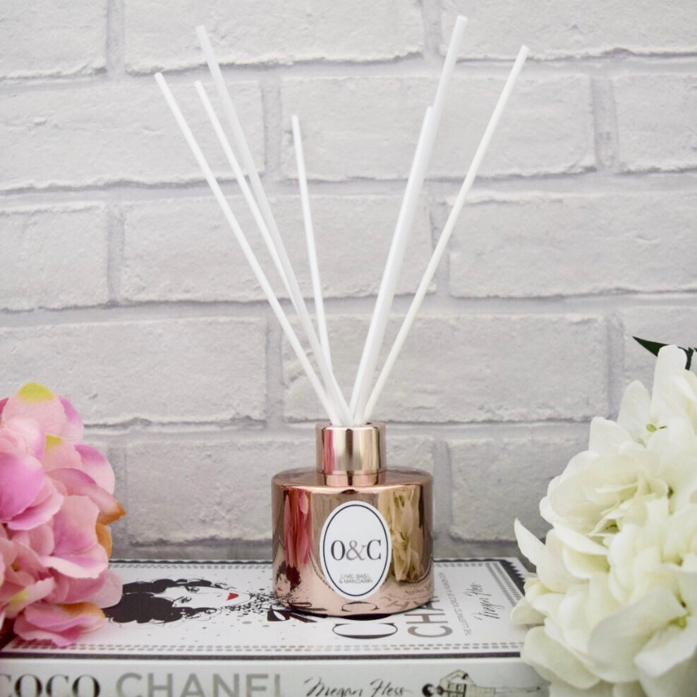 100ml NEW Lime, Basil & Mandarin Reed Diffuser