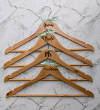 """Personalised Wooden Coat Hangers"""
