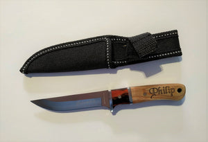Personalised Fixed Blade Knife