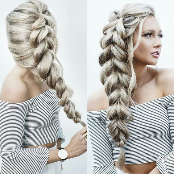 5 TYPES OF BRAIDS TO LEARN: Fishtail, Infinity, Rope, Dutch, Pull-Through...