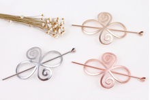 The Empress Hairpin (Silver, Gold)