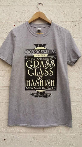 Connoisseurs Headstash Tee by Cure The Nation