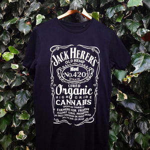 "Jack Herer ""Organic Highgrade"" Tee by Cure The Nation"