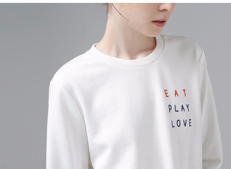 Eat, Play, Love Pullovers