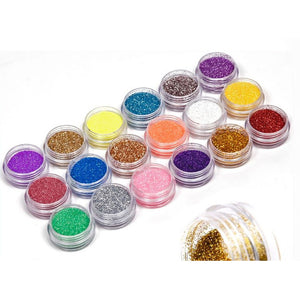 Holiday Glitter Powder Dust Set (18 colors)
