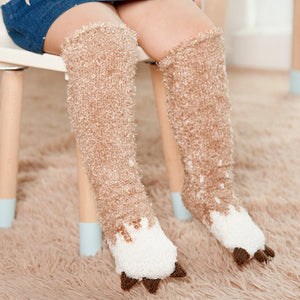 Soft and Non-slip Knee High Christmas Socks (BUY 1 GET 1 FREE!)