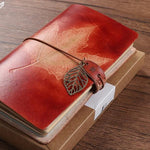 Autumn Leaves Vintage Notebooks