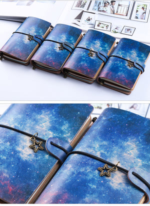 Starry Night Vintage Notebooks