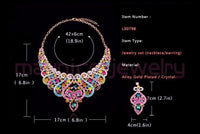 Bridal Jewelry Set Necklace and  Earring
