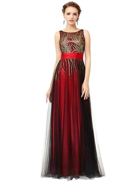 Elegant Sleeveless Gown. 2019 New Arrival!