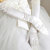 Ultra Long Wedding Gloves