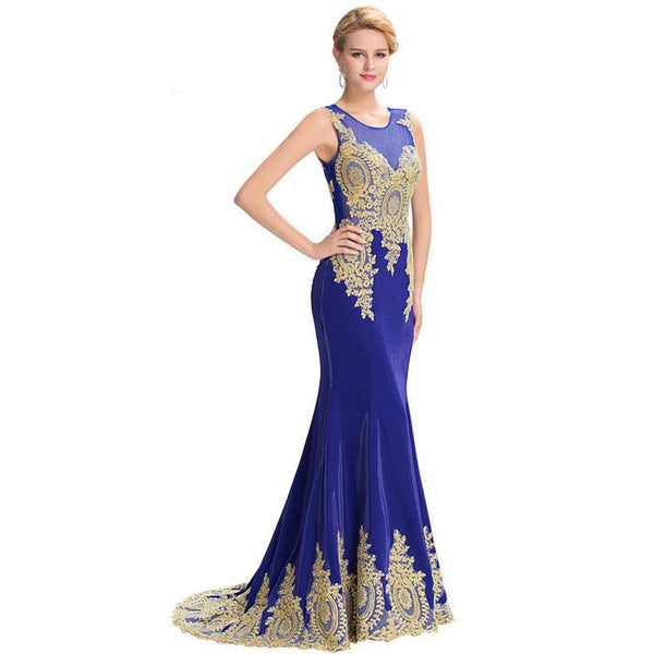 Mermaid Gown Evening Dress. Plus Sizes