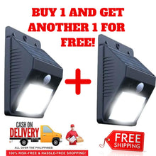 BUY 1 TAKE 1 FREE!! Motion-Activated Solar Powered Lights!