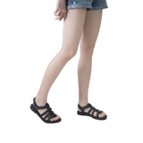 Melissa Women's black jelly sandals with straps