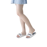 Melissa Women's white jelly flip flops