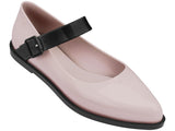 Melissa Women's pink jelly flats with strap