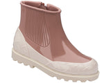 Melissa Women's pink and beige boots