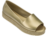 Melissa Women's gold jelly sandals