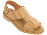Melissa Women's beige jelly sandals with big strap