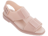 Melissa Women's pink jelly sandals with big strap