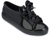 Melissa Women's black jelly sneakers with micky ears