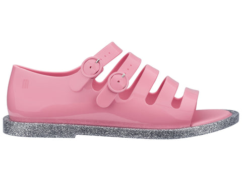 Melissa Women's pink jelly sandals with straps