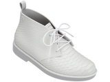 Melissa Women's white closed shoes with plastic woven