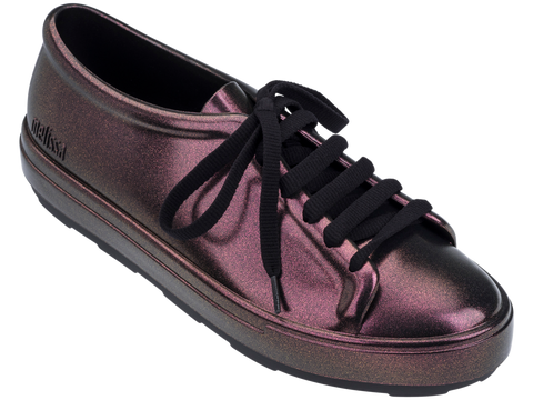 Melissa Women's iridescent purple sneakers