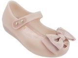 Melissa Kids pink jelly sandals with bow