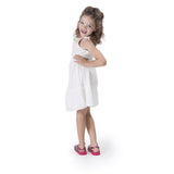 Melissa Kids pink jelly bling sandals