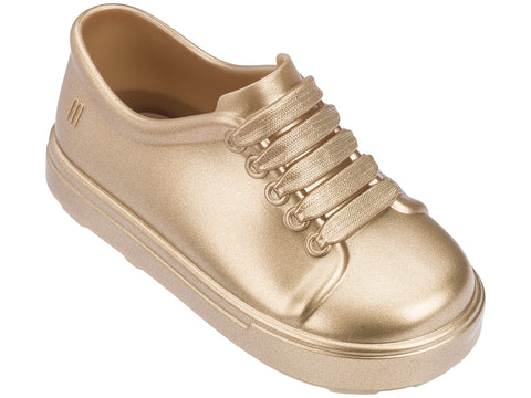 Melissa Kids's gold sneakers