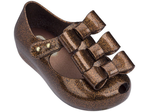 Mini Melissa babies  jelly flats with 3 bow