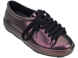 Melissa Kid's purple jelly sneakers