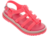 Melissa Kid's red jelly sandals with strap