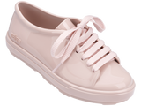 Melissa kid's pink jelly sneakers