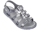 Melissa Kid's silver jelly sandals with strap