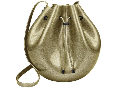 Melissa Women's gold jelly sac bag