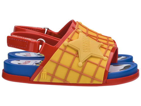 Mini Melissa Beach Slide + Toy Story Woody