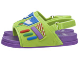 Mini Melissa Beach Slide + Toy Story Buzz