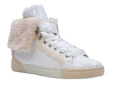 Recounter Women's Fashion Warm white fluffy Short boots