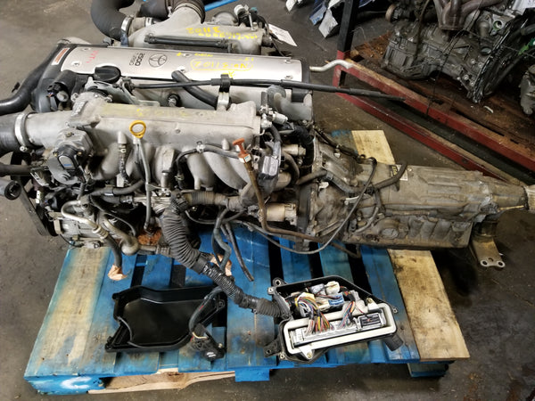 JDM 1JZGTE VVTI 2.5L JZS171 TOYOTA MARK2 MOTOR TURBO ENGINE - $1700