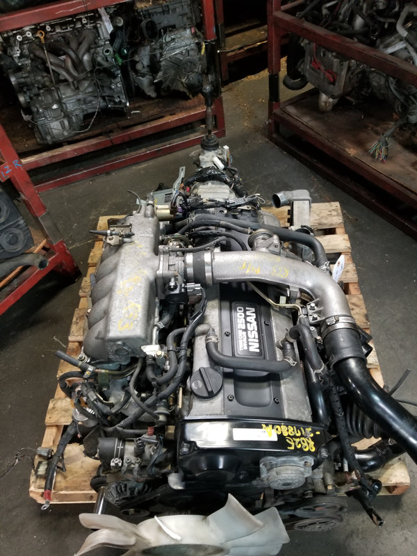 JDM Nissan RB25DET Engine and 5 Speed Transmission Series 2 RB25 R33 Skyline