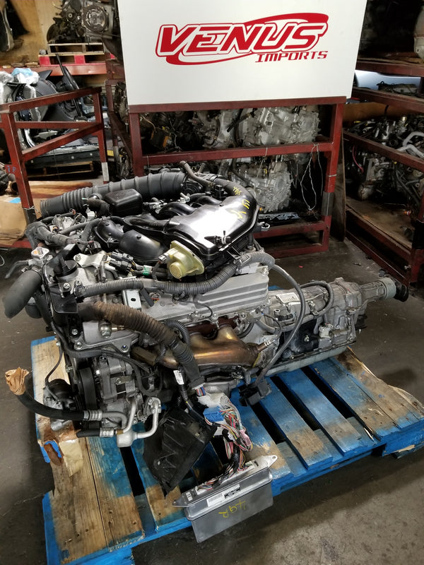 JDM 06-12 LEXUS IS250 2.5L 4GR Engine Motor with RWD Transmission