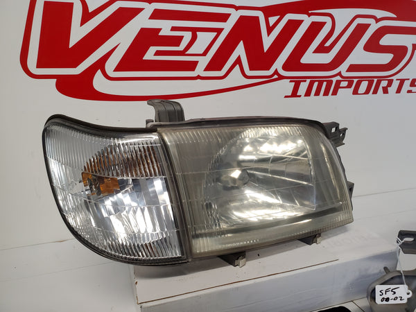 JDM 00-02 Subaru Forester SF5 Headlights Corner Lights Head Lamps LATE MODEL