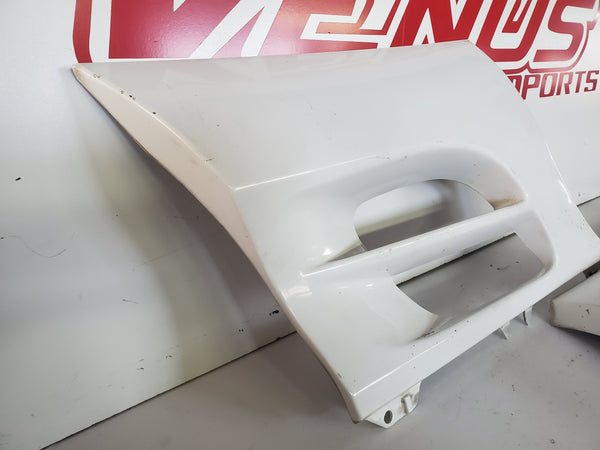 JDM 91-99 TOYOTA MR-2 SW20 Rear Side Exterior Trim Air Vent Skirts Body Kits MR2