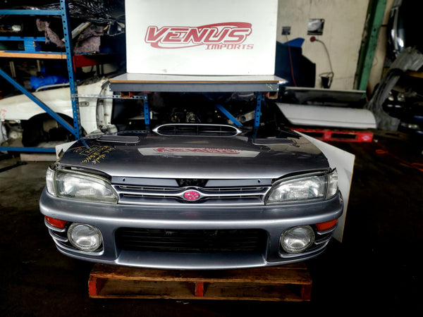 JDM 1993-2001 SUBARU IMPREZA GC8 WRX STI TURBO  FRONT END CONVERSION NOSE CUT