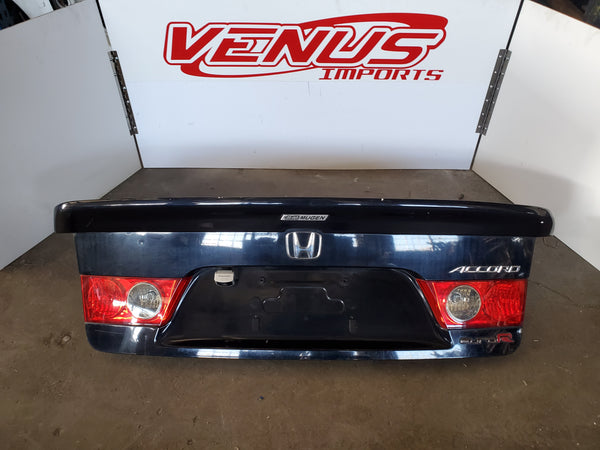 JDM Honda Accord Euro-R CL7 CL9 Authentic Mugen Lip Rear Wing Spoiler Acura Tsx
