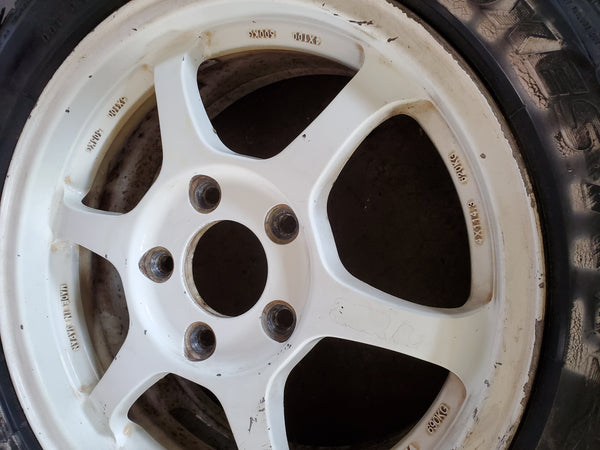SSR Type C competition 15x6.5 5x114 +48 1 rim only! CTR ITR CIVIC INTEGRA Honda